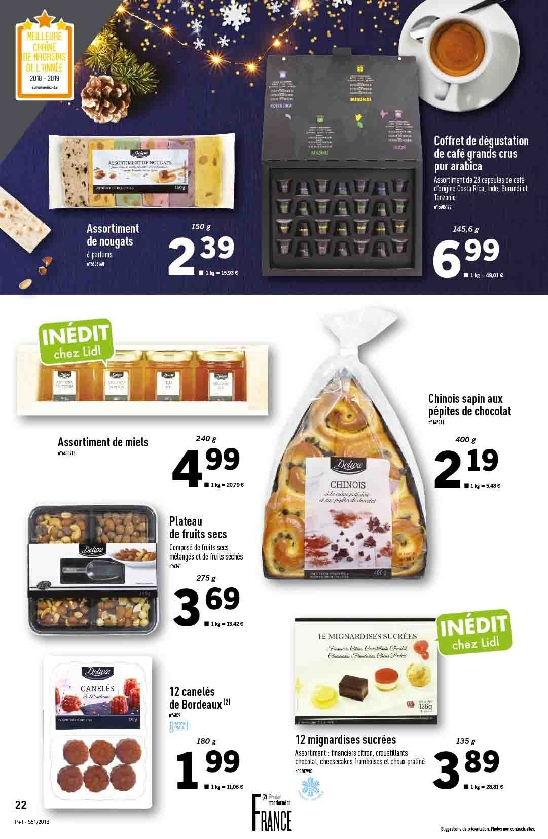 Catalogue Lidl - 19.12.2018 - 24.12.2018. Page 22.