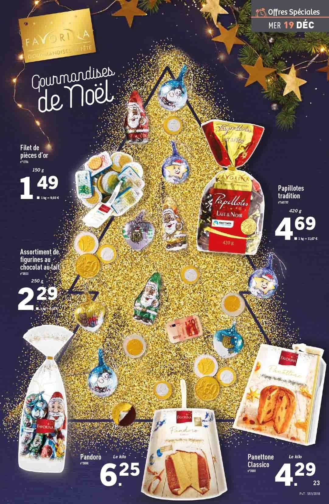 Catalogue Lidl - 19.12.2018 - 24.12.2018. Page 23.