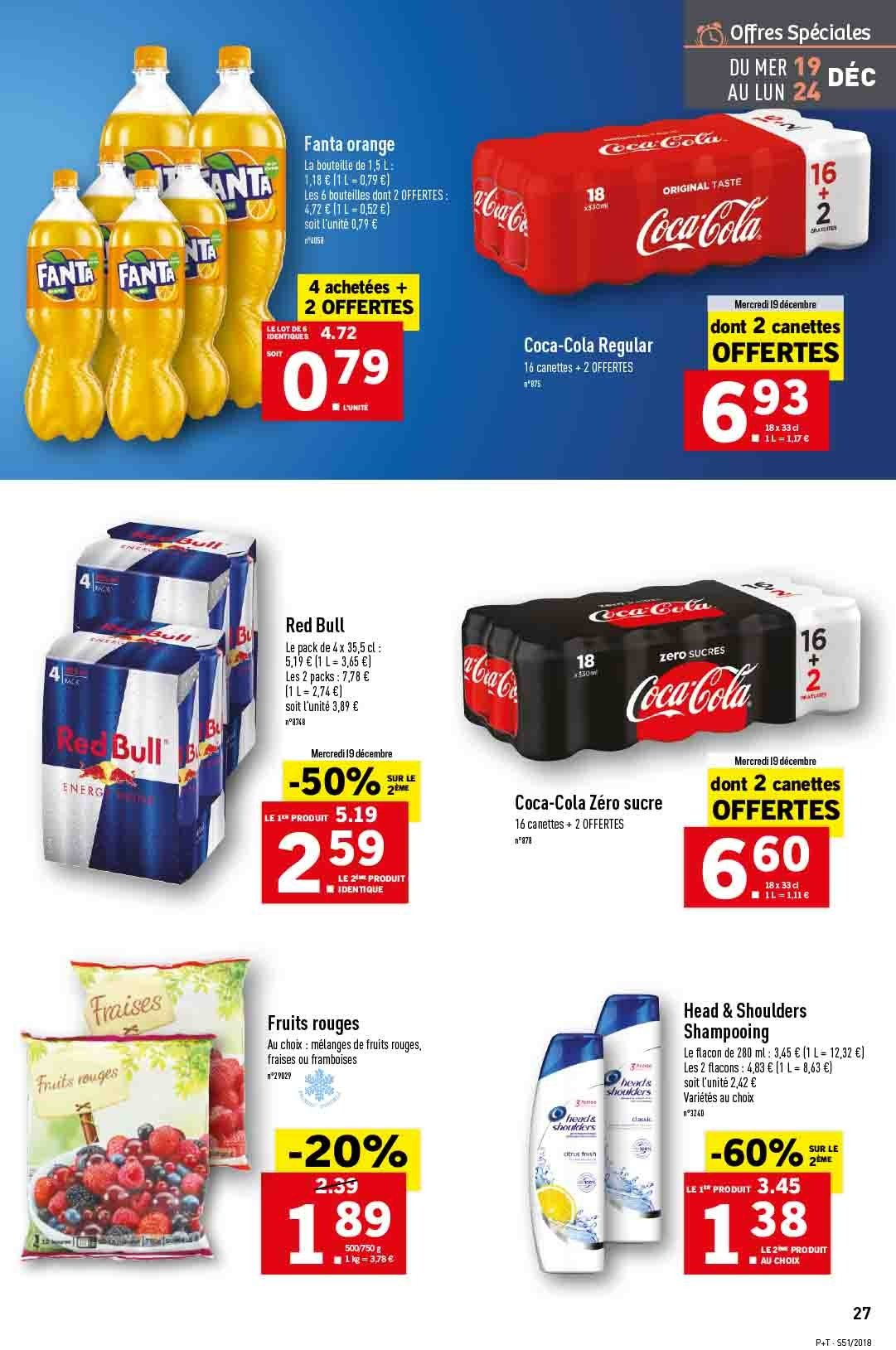 Catalogue Lidl - 19.12.2018 - 24.12.2018. Page 27.