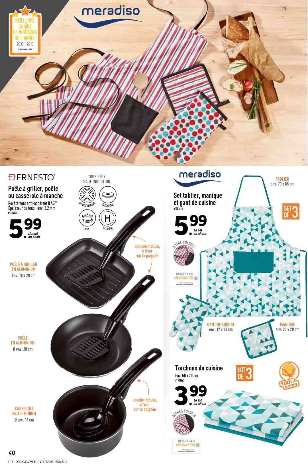 Catalogue Lidl - 19.12.2018 - 24.12.2018. Page 40.