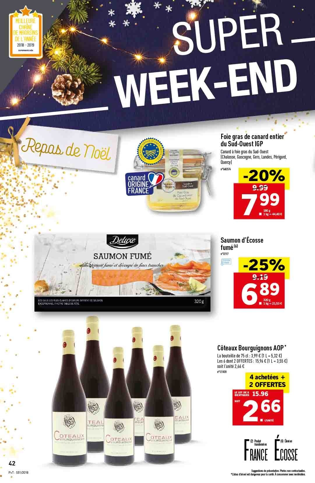 Catalogue Lidl - 19.12.2018 - 24.12.2018. Page 42.