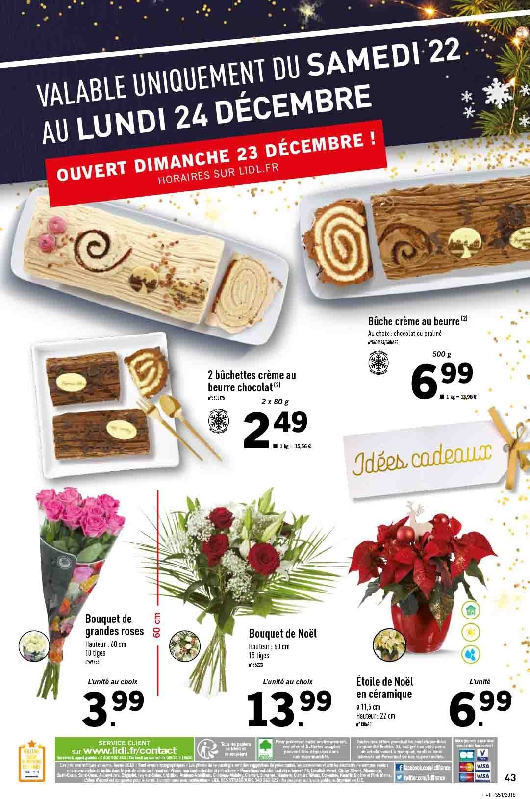 Catalogue Lidl - 19.12.2018 - 24.12.2018. Page 43.
