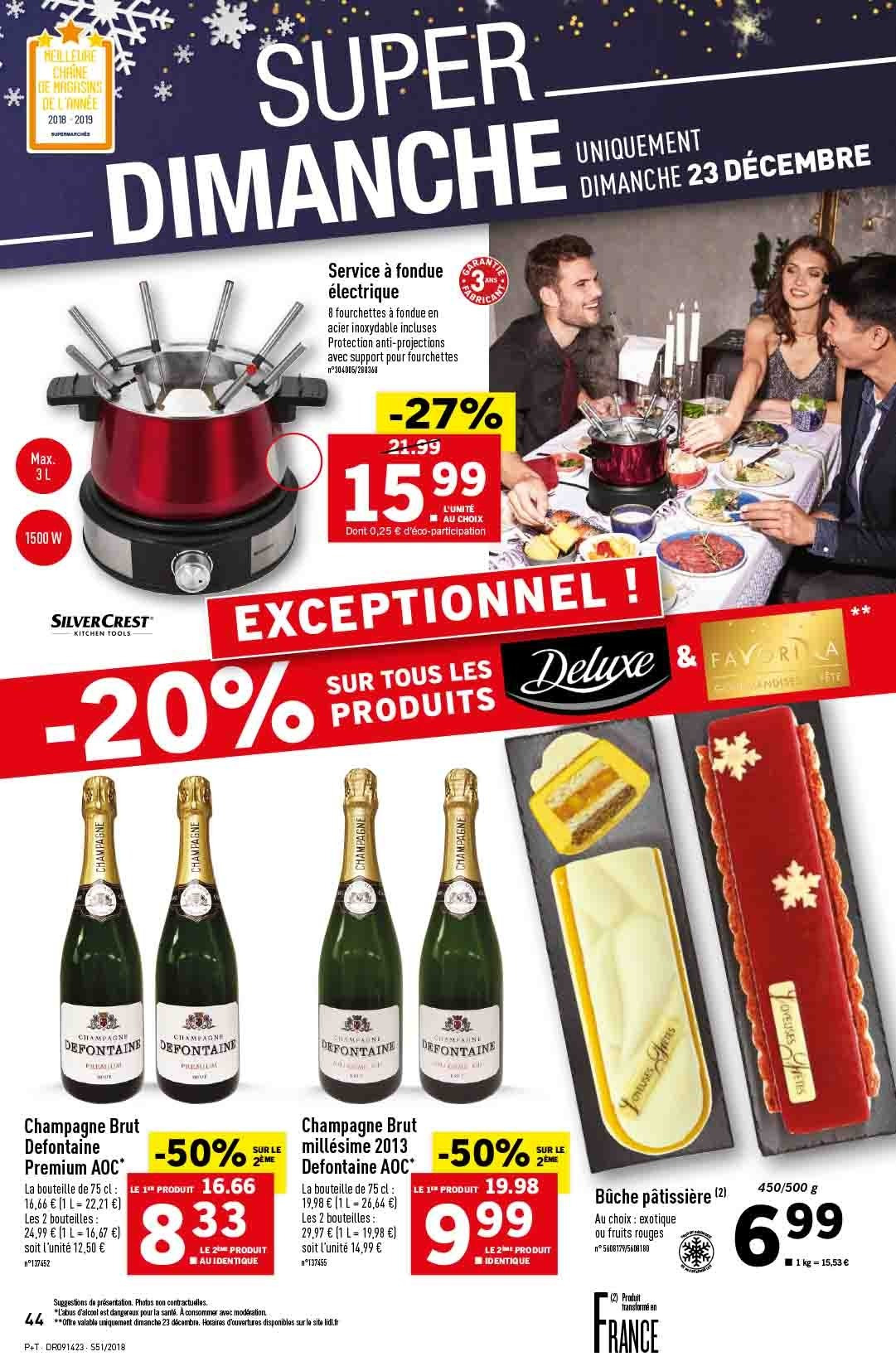 Catalogue Lidl - 19.12.2018 - 24.12.2018. Page 44.