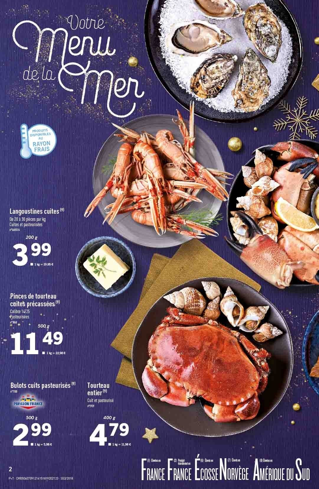 Catalogue Lidl - 26.12.2018 - 31.12.2018. Page 2.