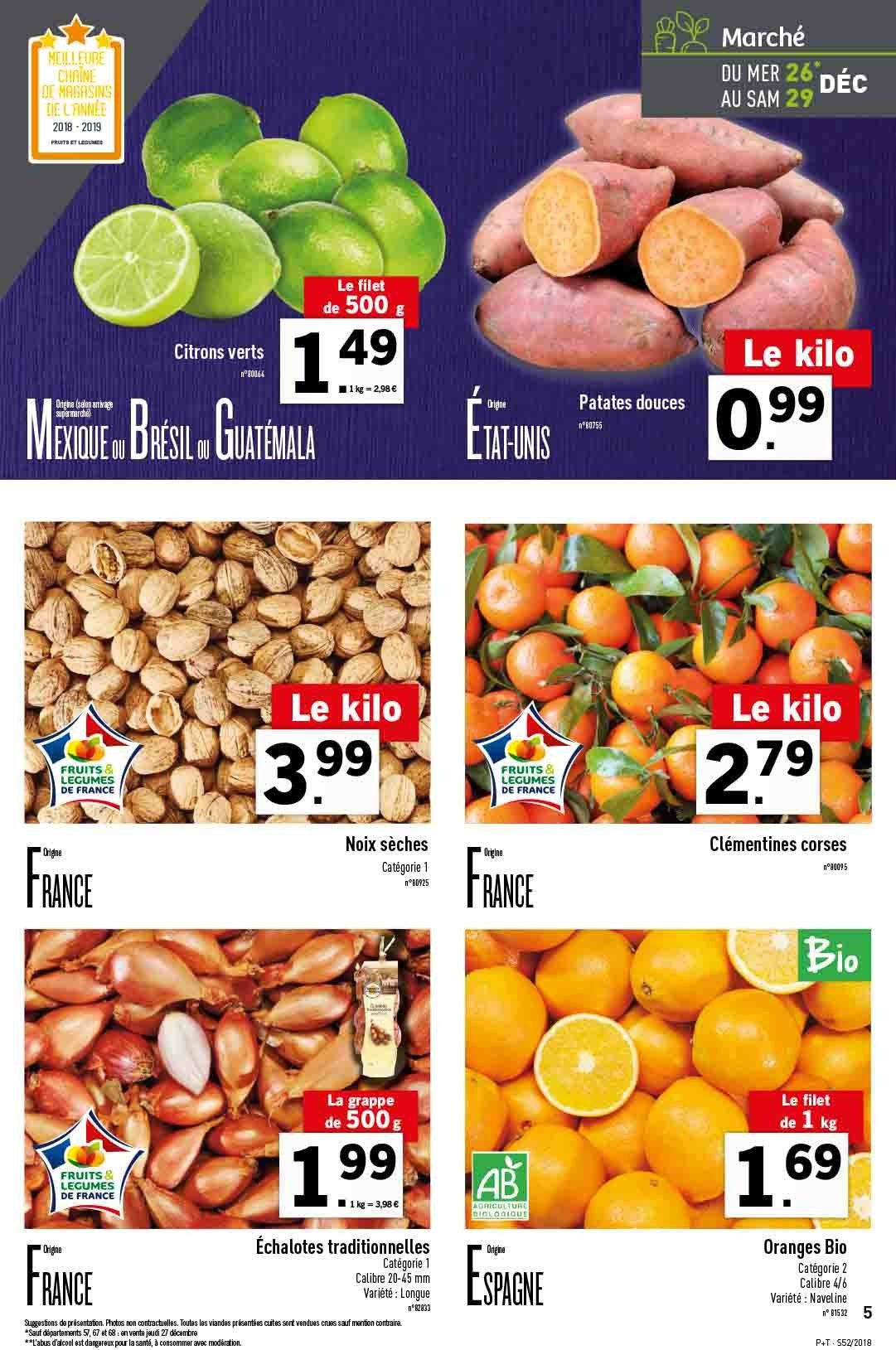 Catalogue Lidl - 26.12.2018 - 31.12.2018. Page 5.