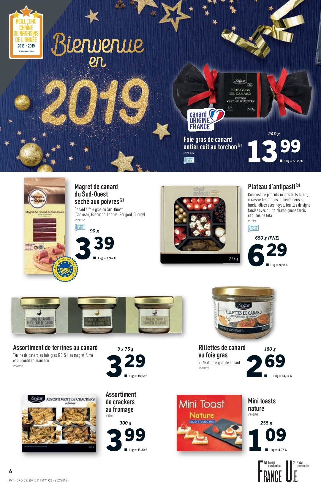 Catalogue Lidl - 26.12.2018 - 31.12.2018. Page 6.