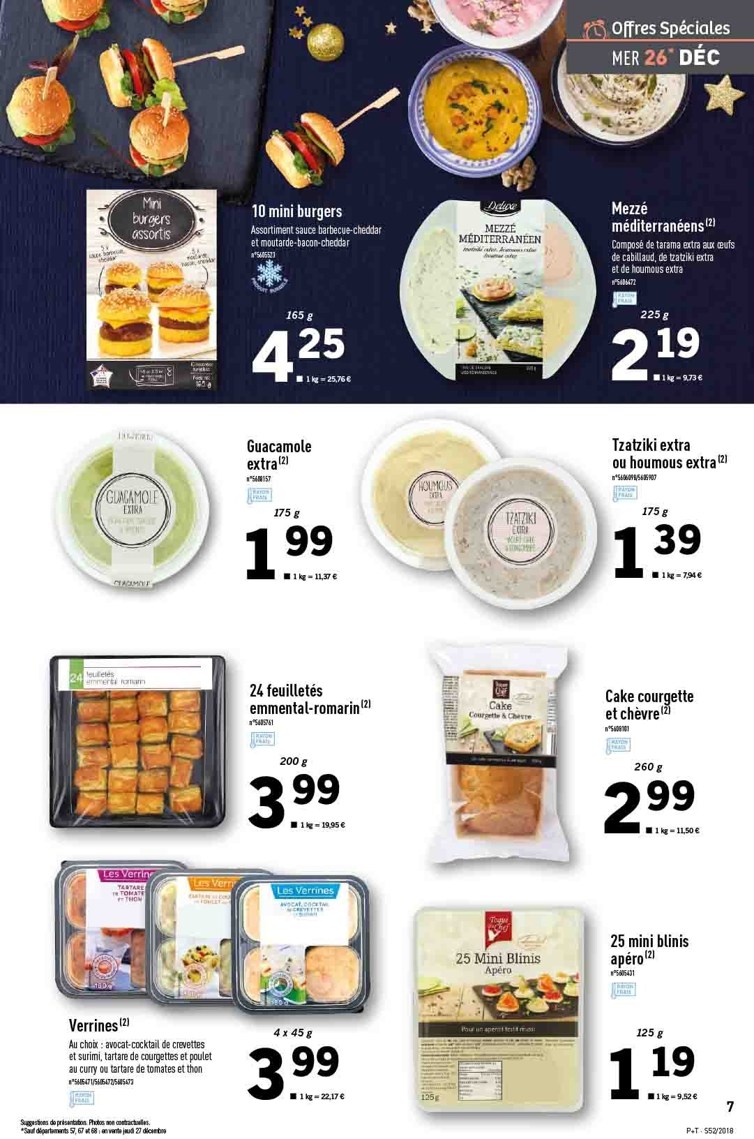 Catalogue Lidl - 26.12.2018 - 31.12.2018. Page 7.