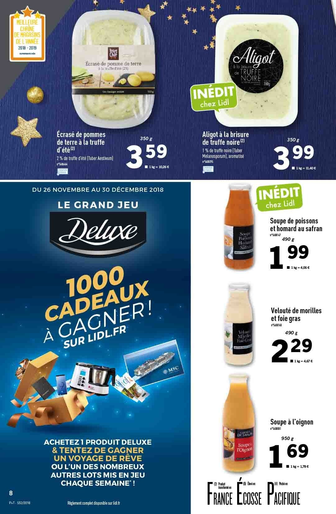 Catalogue Lidl - 26.12.2018 - 31.12.2018. Page 8.
