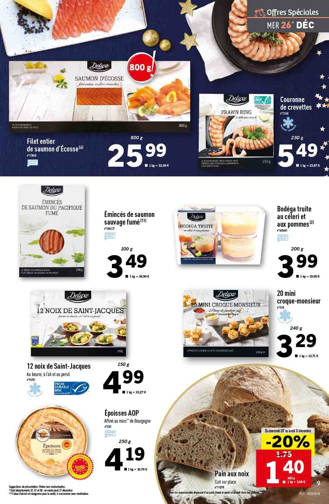 Catalogue Lidl - 26.12.2018 - 31.12.2018. Page 9.