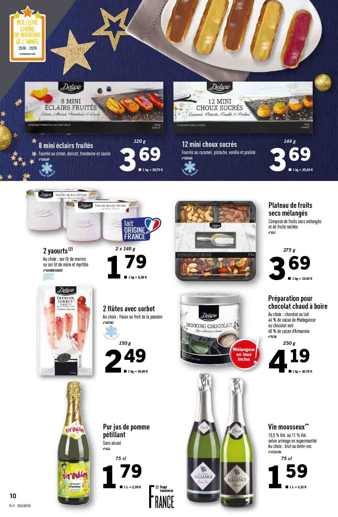 Catalogue Lidl - 26.12.2018 - 31.12.2018. Page 10.