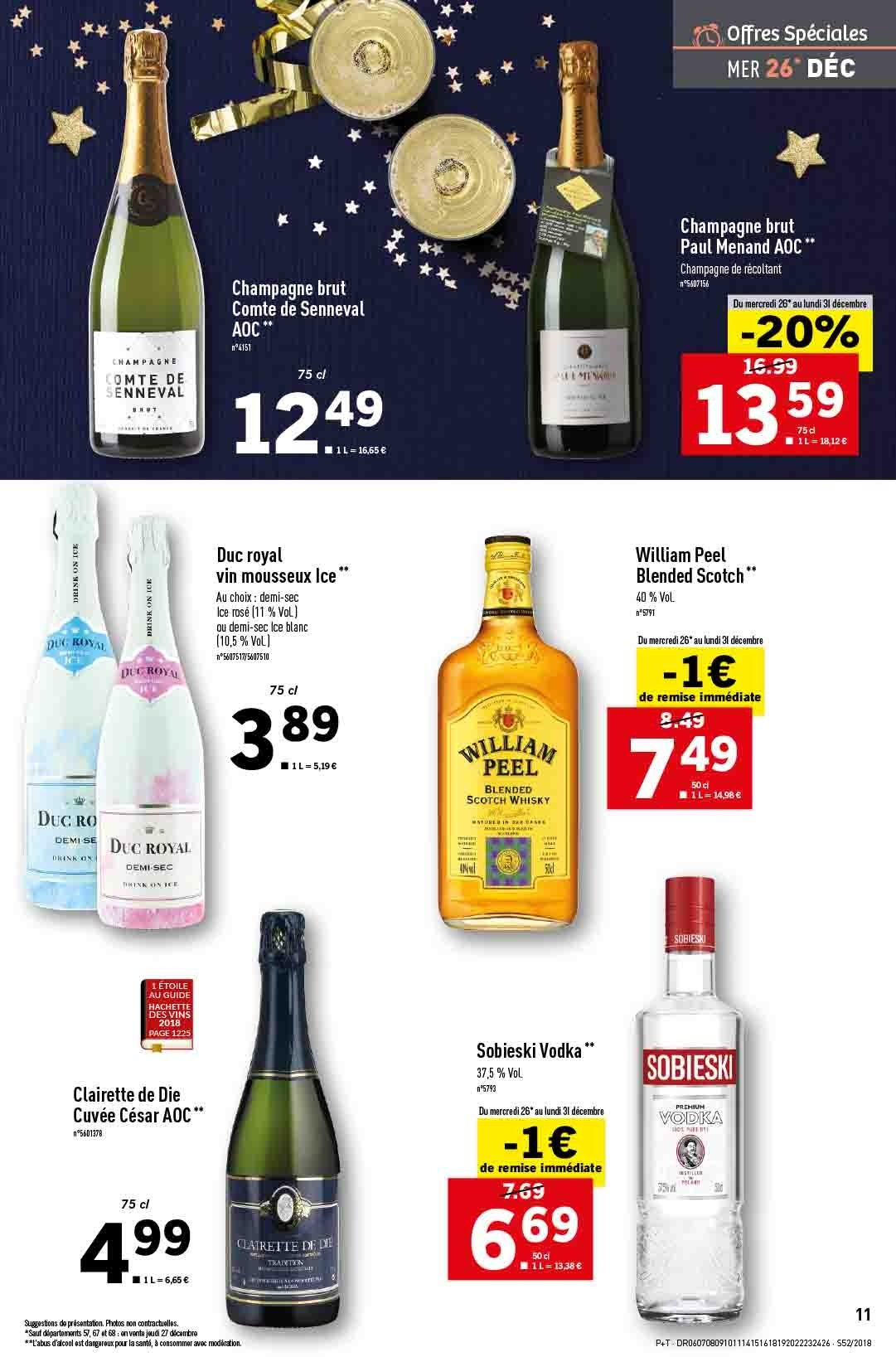 Catalogue Lidl - 26.12.2018 - 31.12.2018. Page 11.