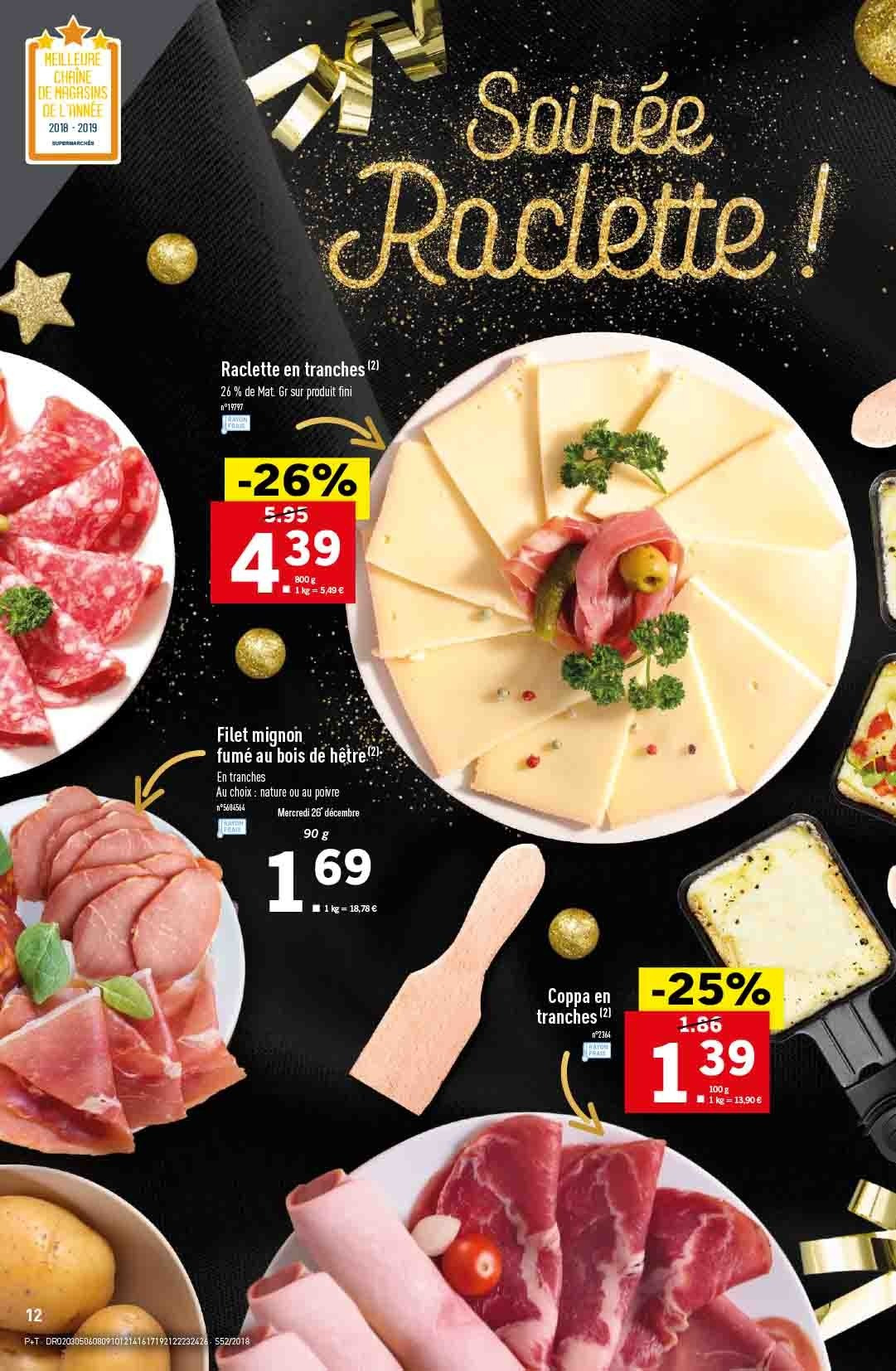 Catalogue Lidl - 26.12.2018 - 31.12.2018. Page 12.