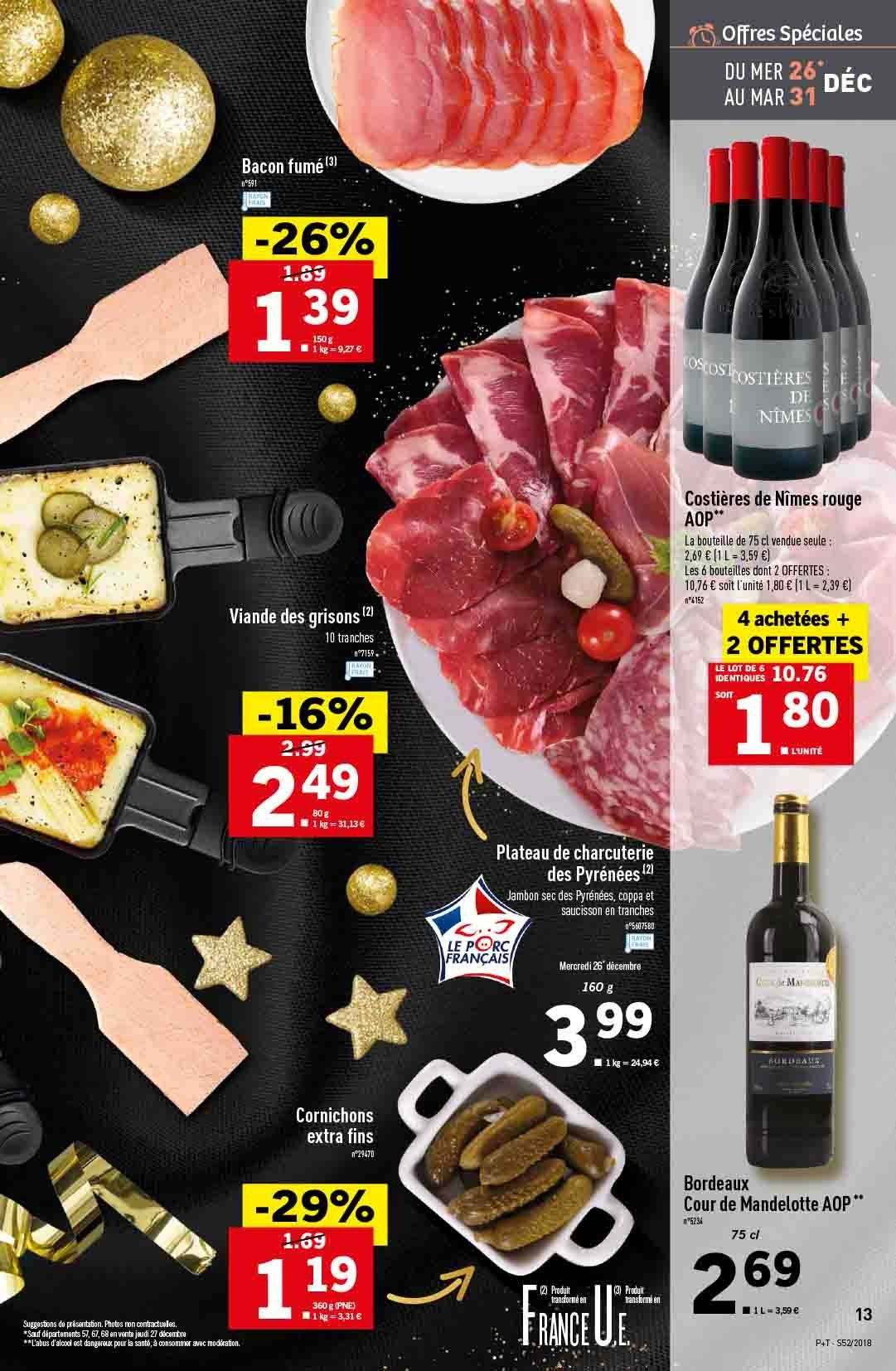 Catalogue Lidl - 26.12.2018 - 31.12.2018. Page 13.