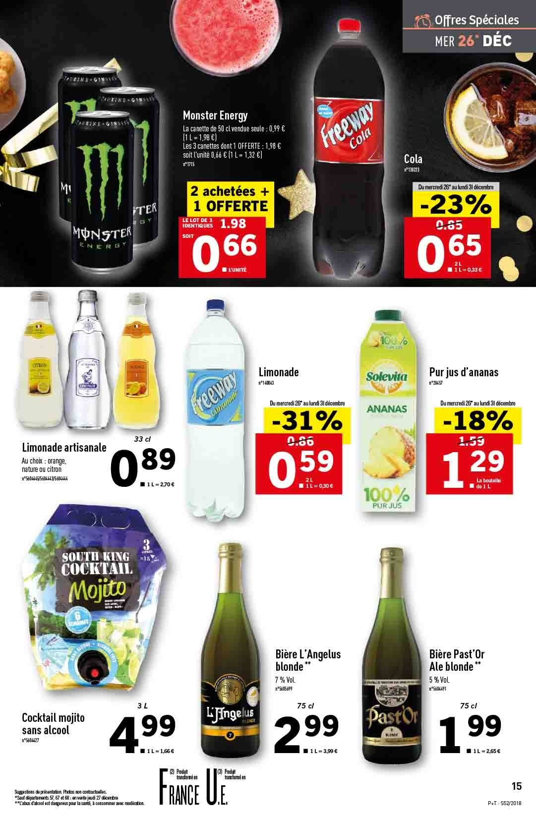 Catalogue Lidl - 26.12.2018 - 31.12.2018. Page 15.