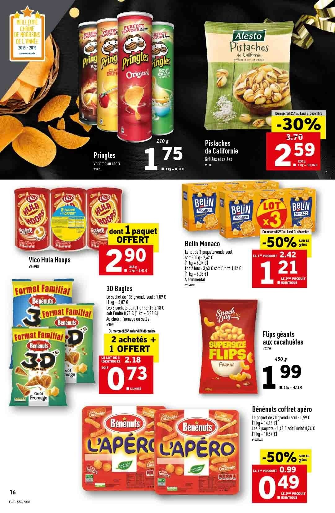 Catalogue Lidl - 26.12.2018 - 31.12.2018. Page 16.