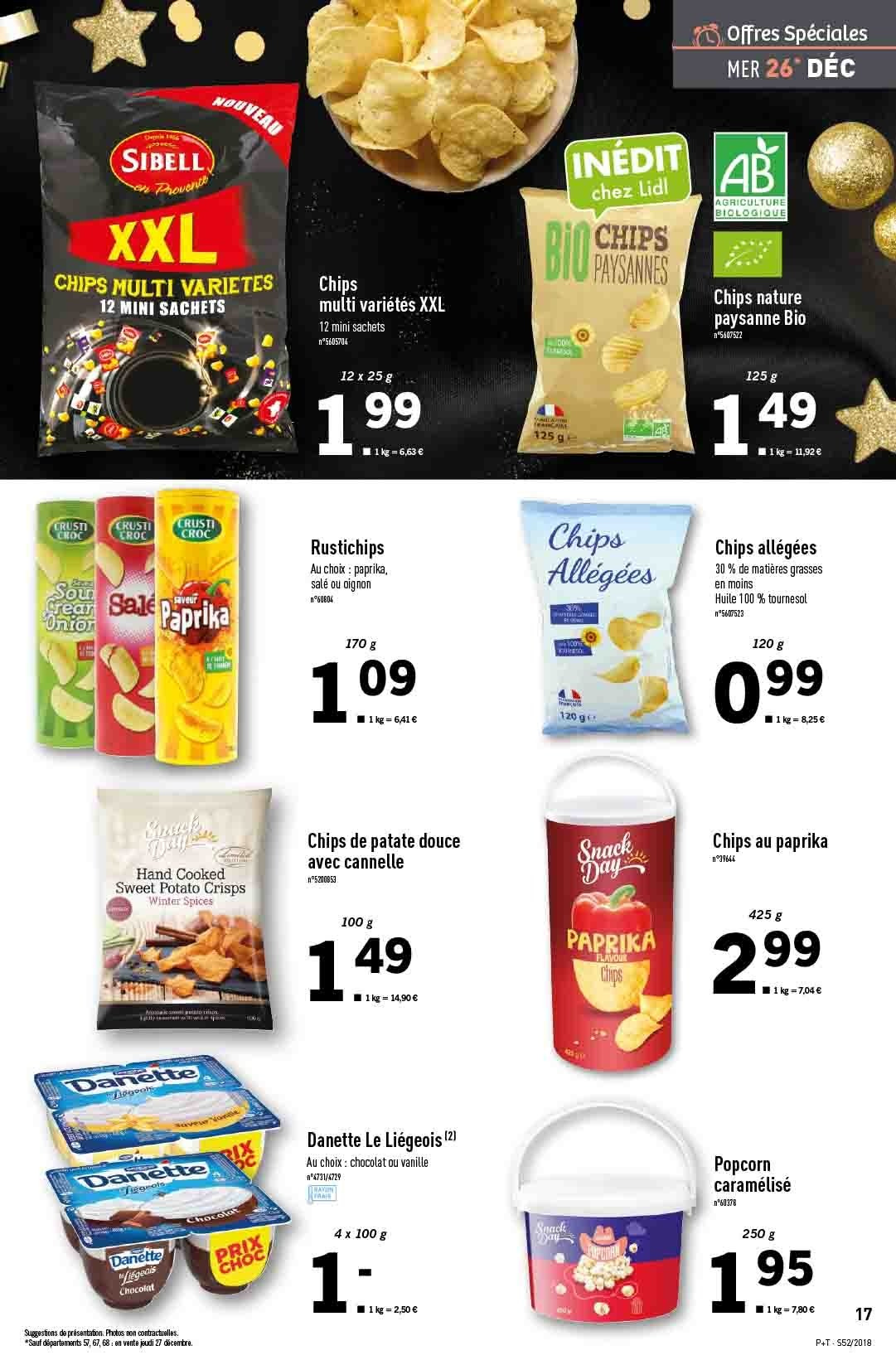 Catalogue Lidl - 26.12.2018 - 31.12.2018. Page 17.