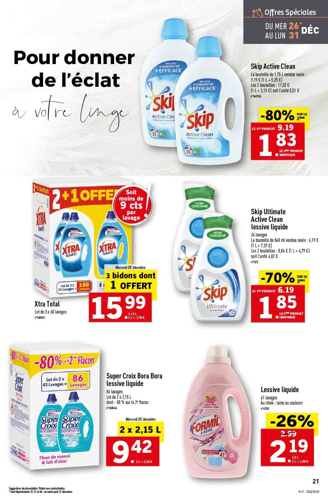 Catalogue Lidl - 26.12.2018 - 31.12.2018. Page 21.