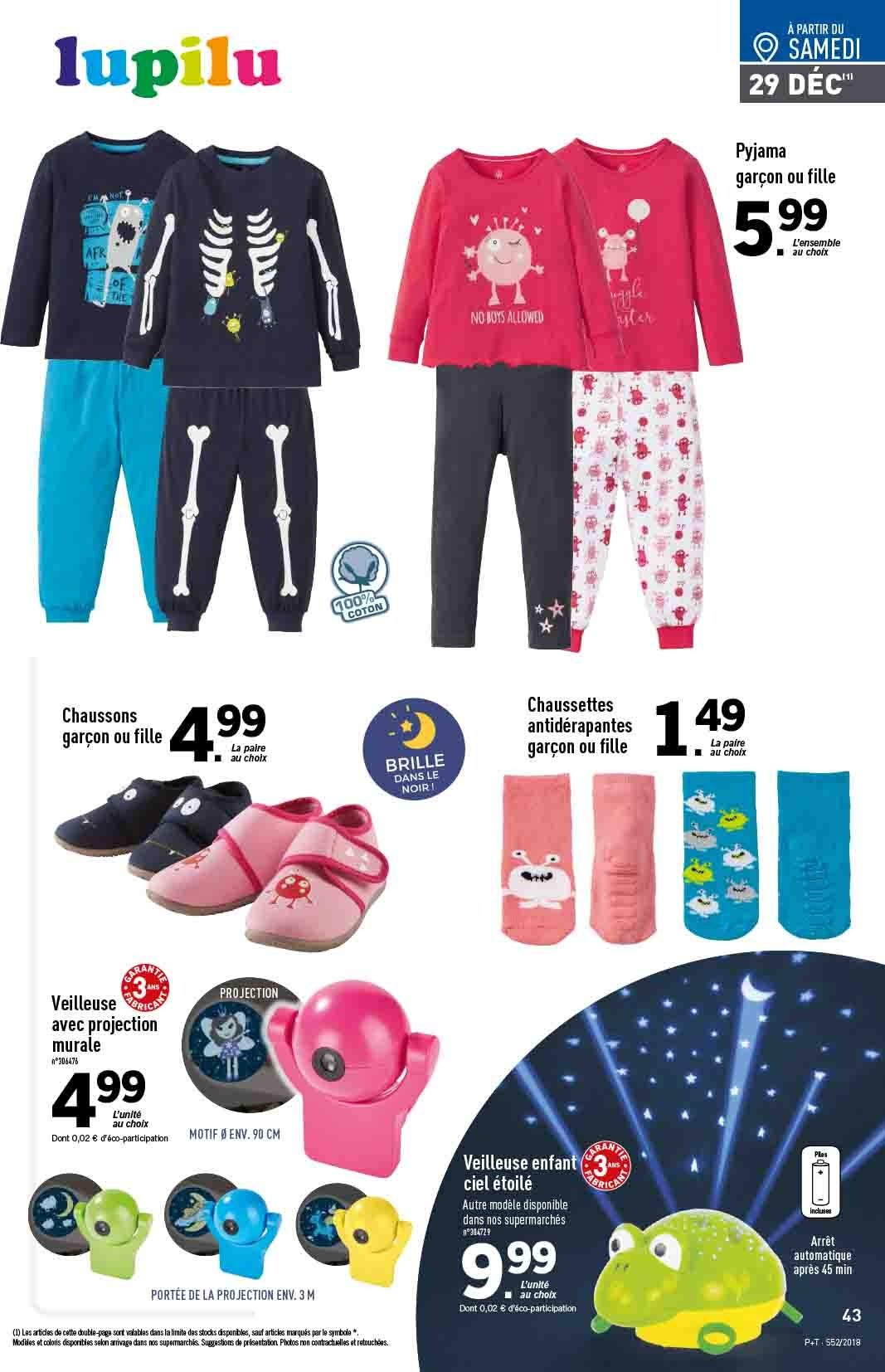Catalogue Lidl - 26.12.2018 - 31.12.2018. Page 43.