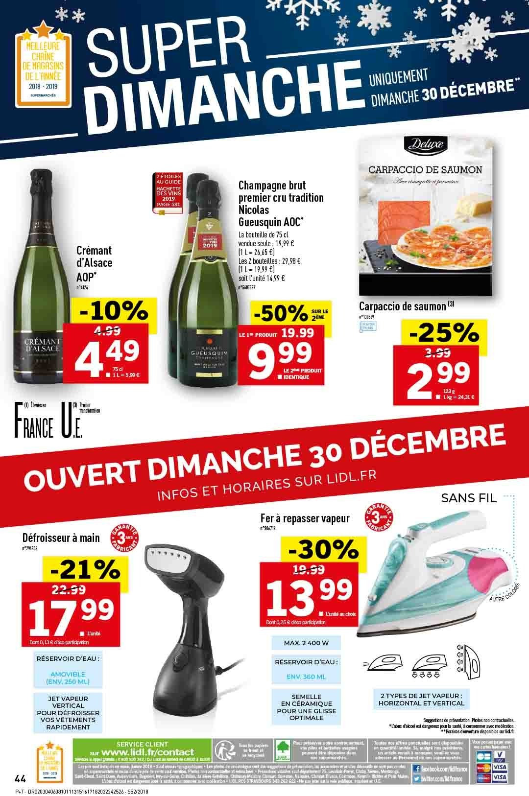 Catalogue Lidl - 26.12.2018 - 31.12.2018. Page 44.
