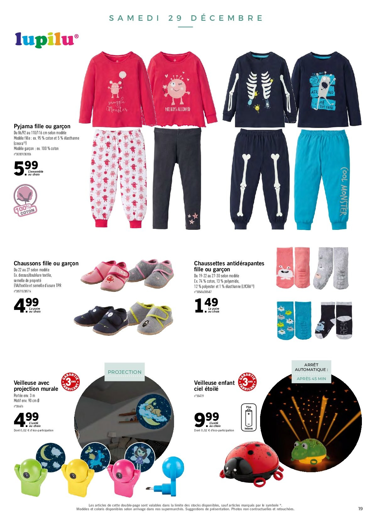 Catalogue Lidl - 26.12.2018 - 30.12.2018. Page 19.