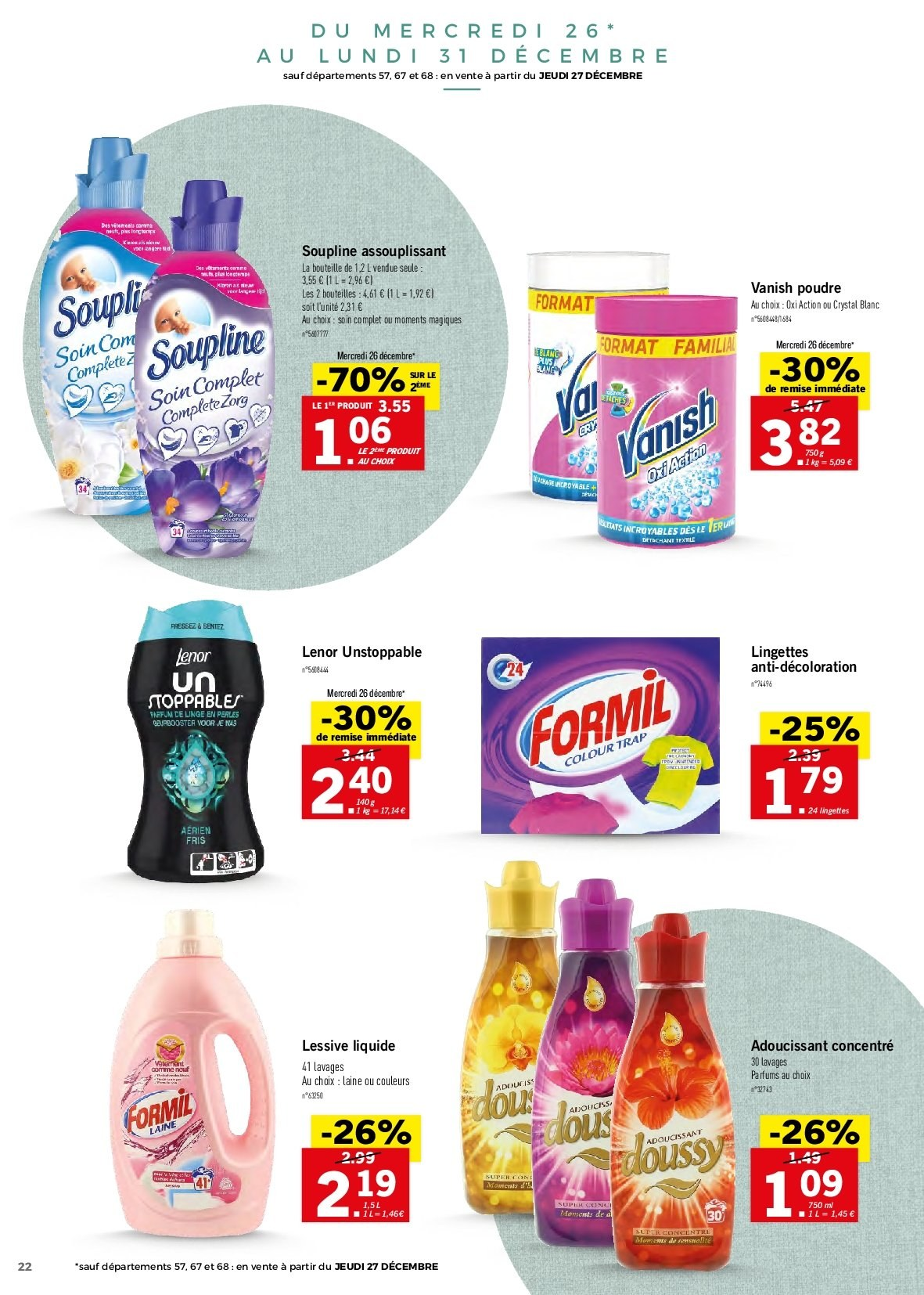 Catalogue Lidl - 26.12.2018 - 30.12.2018. Page 22.