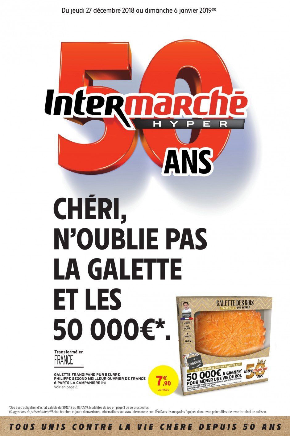 Catalogue Intermarché - 27.12.2018 - 06.01.2019. Page 1.