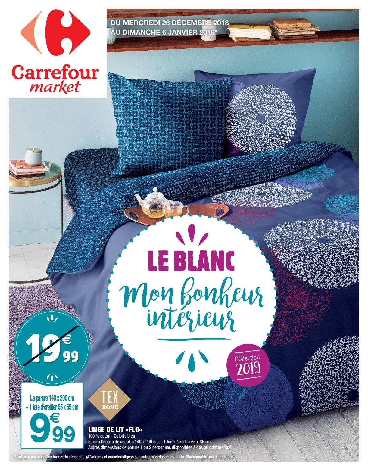 Catalogue Carrefour - 26.12.2018 - 06.01.2019. Page 1.