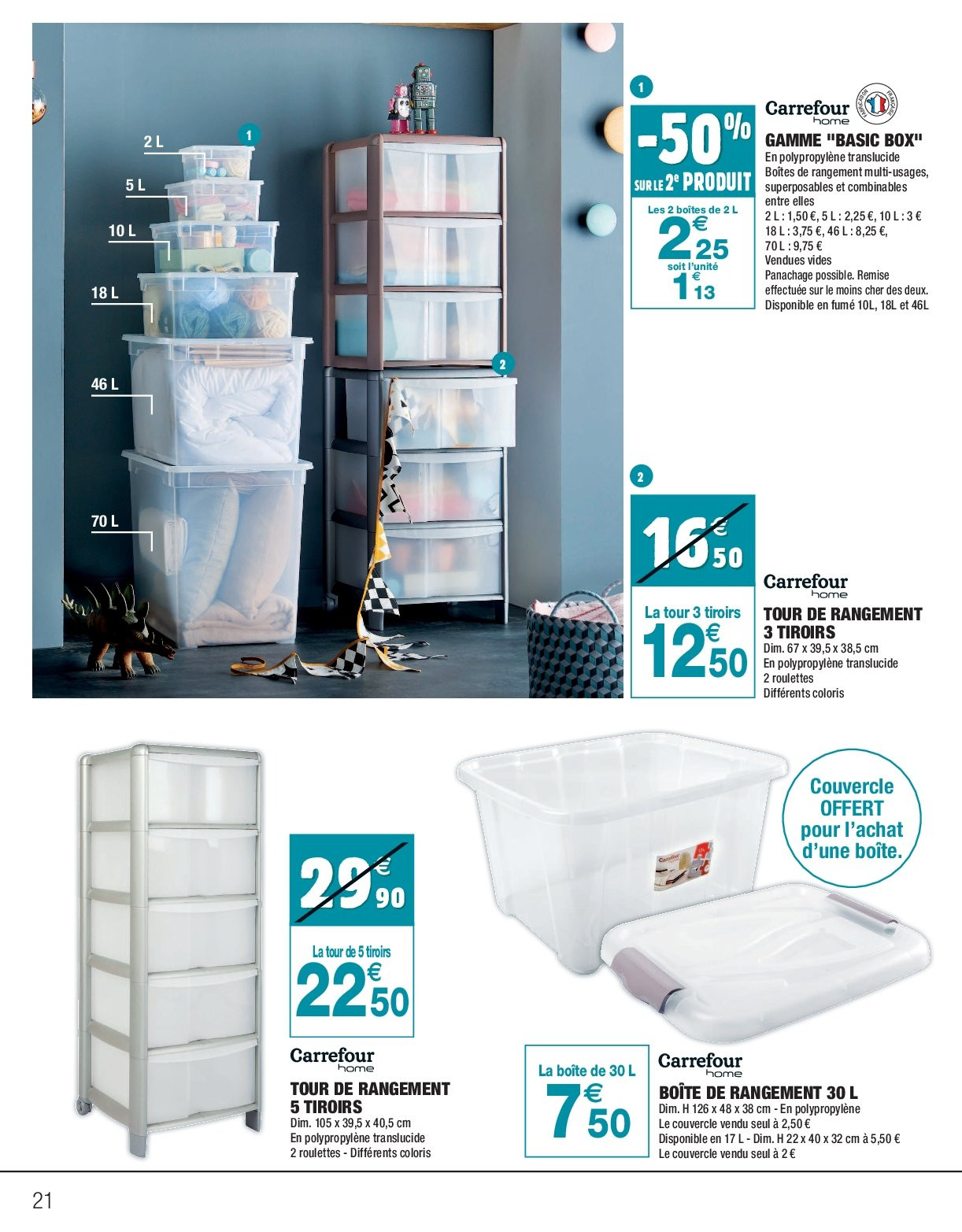 Catalogue Carrefour - 26.12.2018 - 06.01.2019. Page 21.