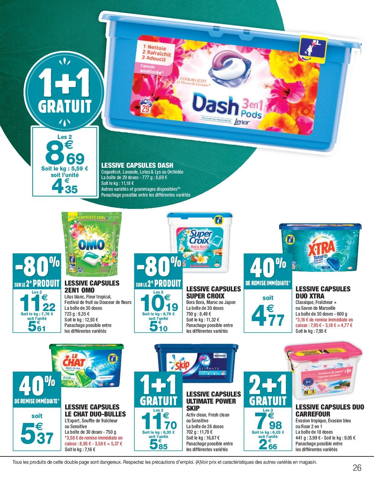 Catalogue Carrefour - 26.12.2018 - 06.01.2019. Page 26.
