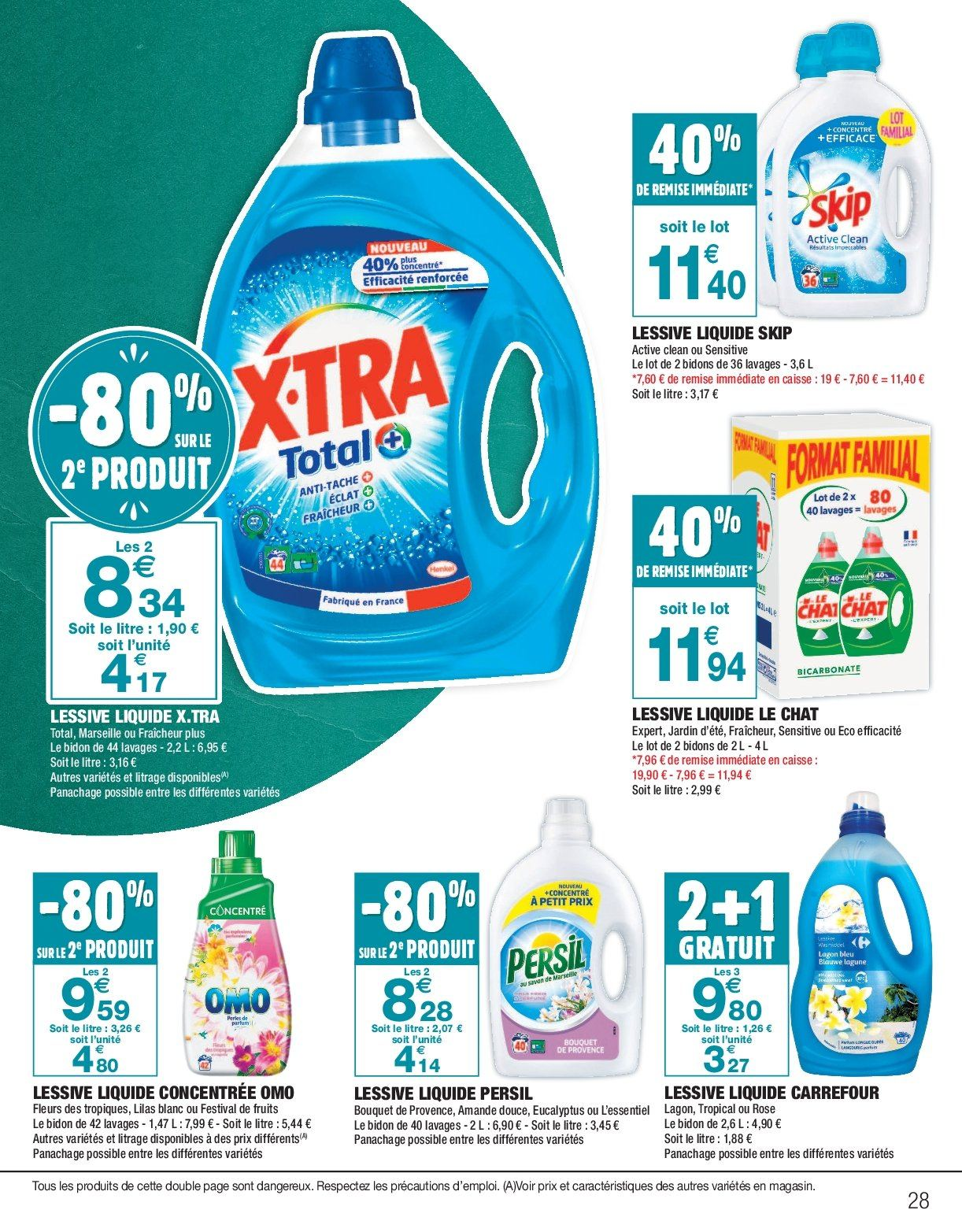 Catalogue Carrefour - 26.12.2018 - 06.01.2019. Page 28.