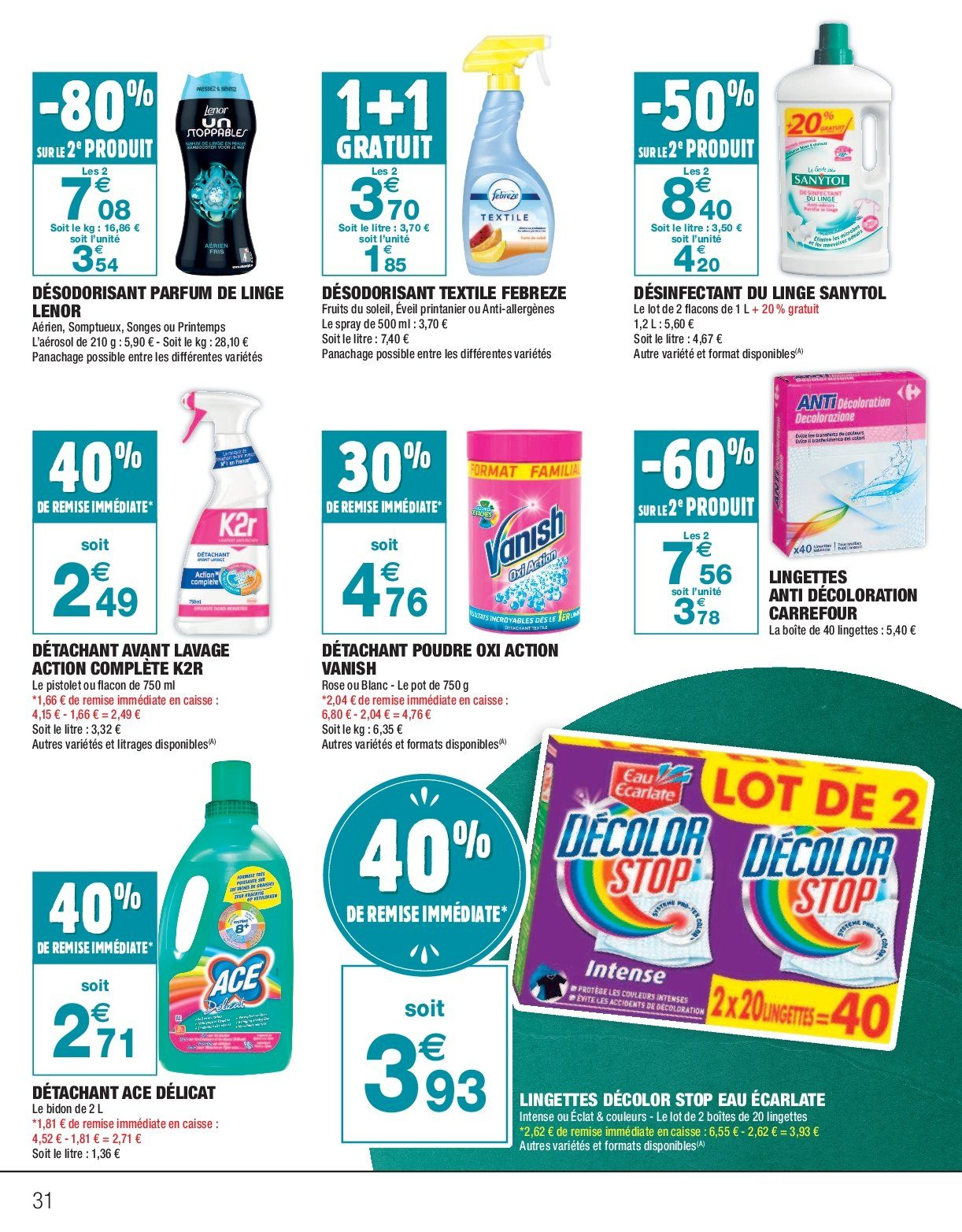 Catalogue Carrefour - 26.12.2018 - 06.01.2019. Page 31.