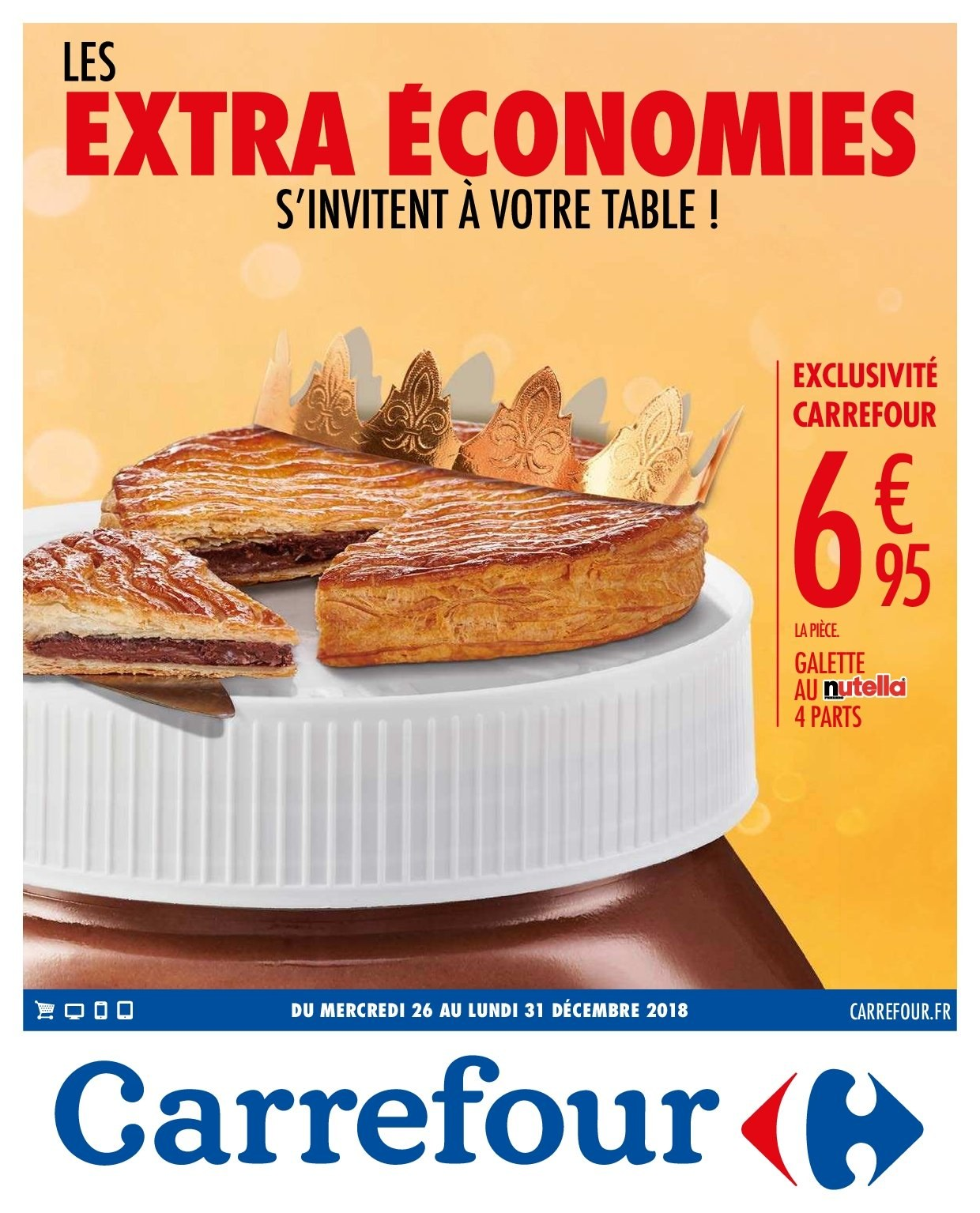 Catalogue Carrefour - 26.12.2018 - 31.12.2018. Page 1.