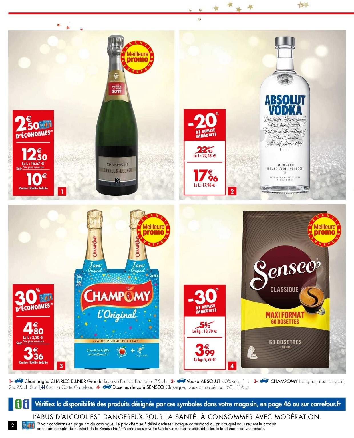 Catalogue Carrefour - 26.12.2018 - 31.12.2018. Page 2.