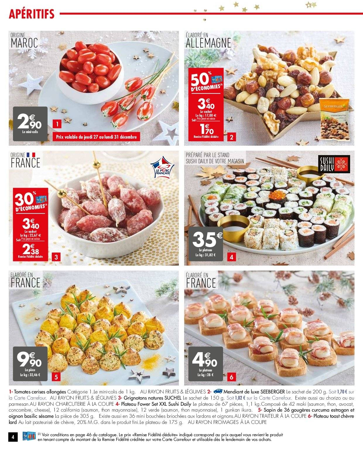 Catalogue Carrefour - 26.12.2018 - 31.12.2018. Page 4.