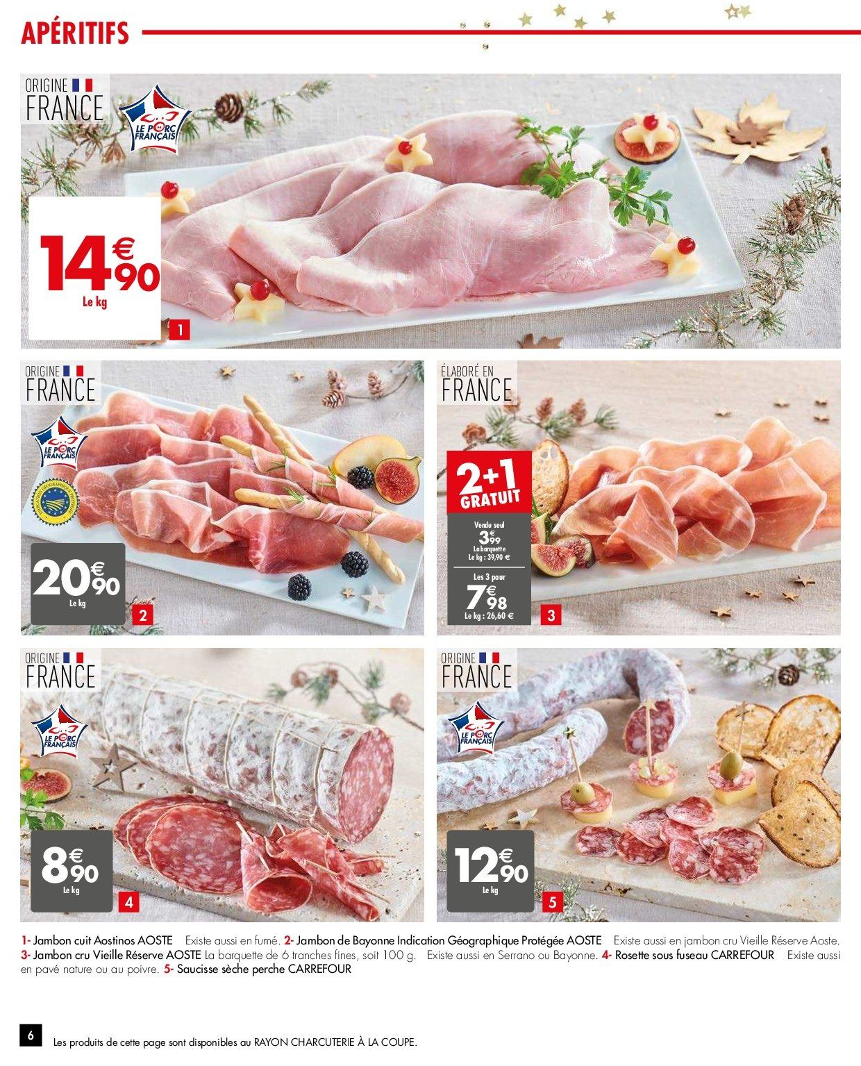 Catalogue Carrefour - 26.12.2018 - 31.12.2018. Page 6.