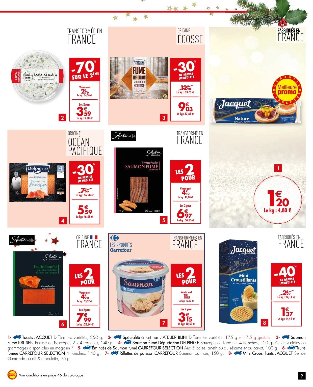 Catalogue Carrefour - 26.12.2018 - 31.12.2018. Page 9.