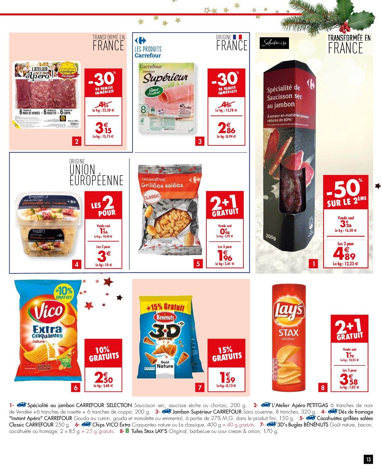 Catalogue Carrefour - 26.12.2018 - 31.12.2018. Page 13.