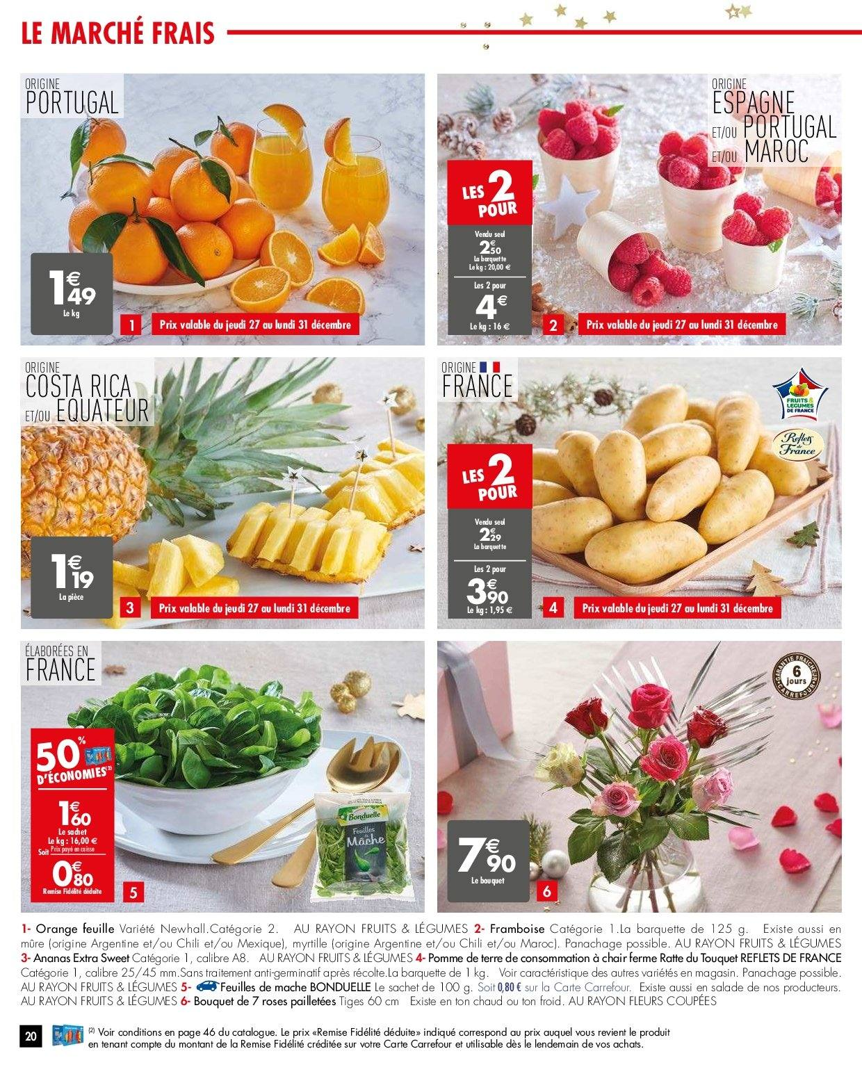 Catalogue Carrefour - 26.12.2018 - 31.12.2018. Page 20.