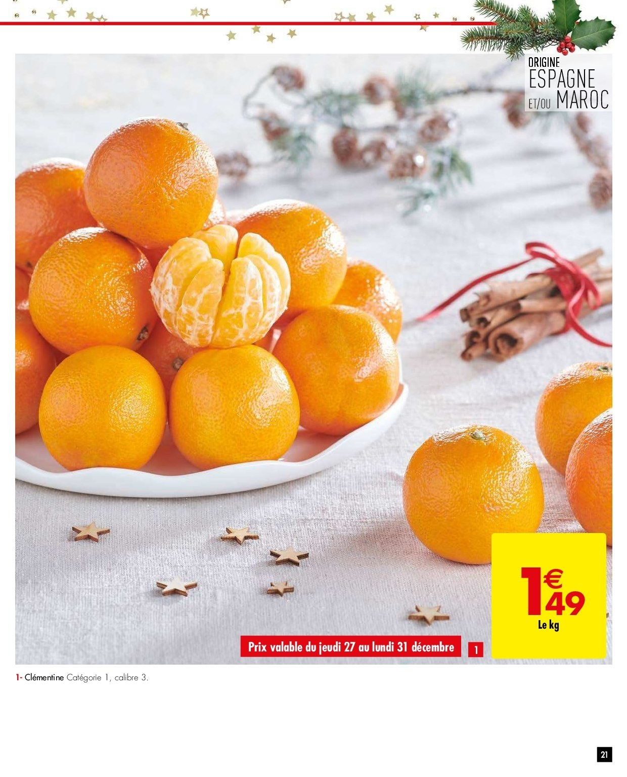 Catalogue Carrefour - 26.12.2018 - 31.12.2018. Page 21.