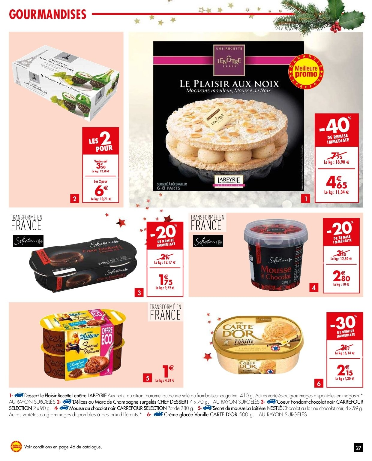 Catalogue Carrefour - 26.12.2018 - 31.12.2018. Page 27.