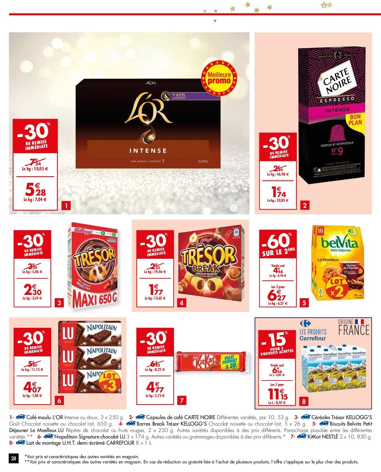 Catalogue Carrefour - 26.12.2018 - 31.12.2018. Page 28.