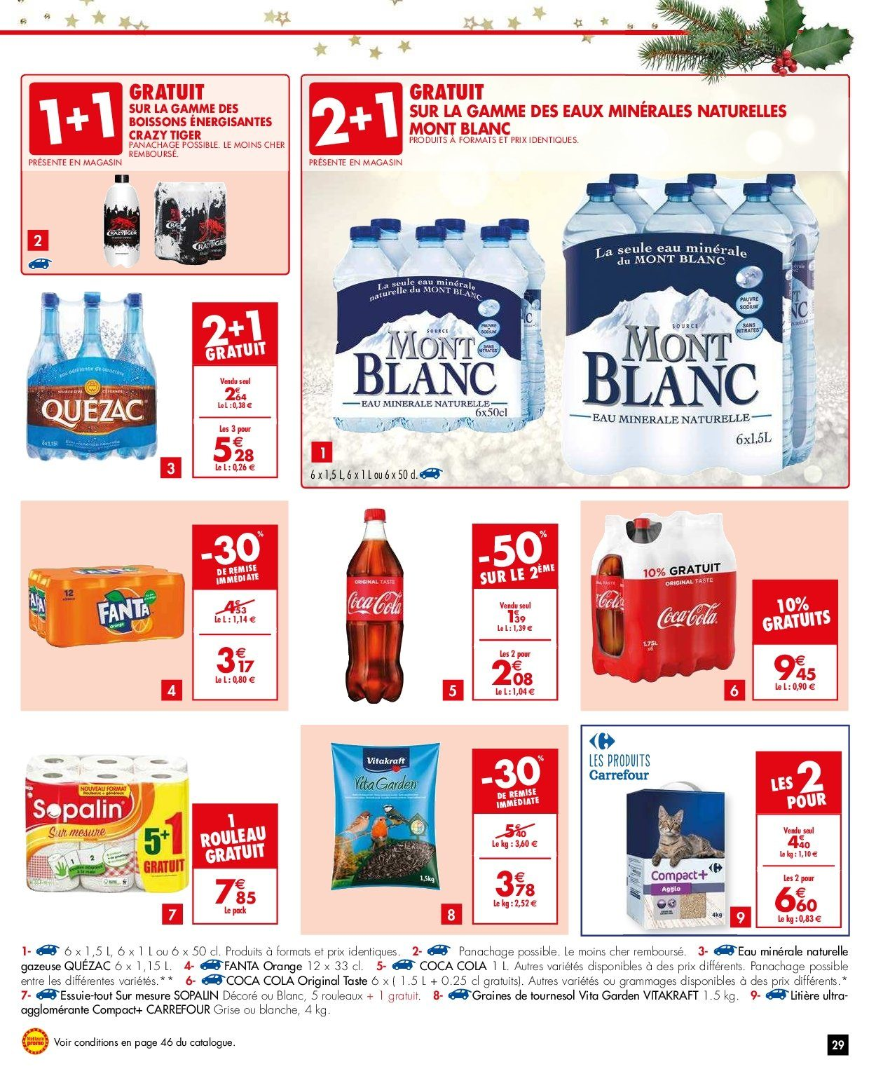 Catalogue Carrefour - 26.12.2018 - 31.12.2018. Page 29.