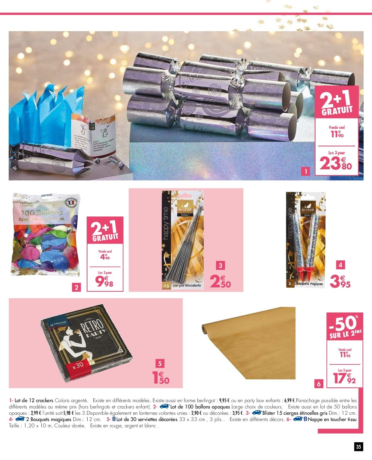 Catalogue Carrefour - 26.12.2018 - 31.12.2018. Page 35.