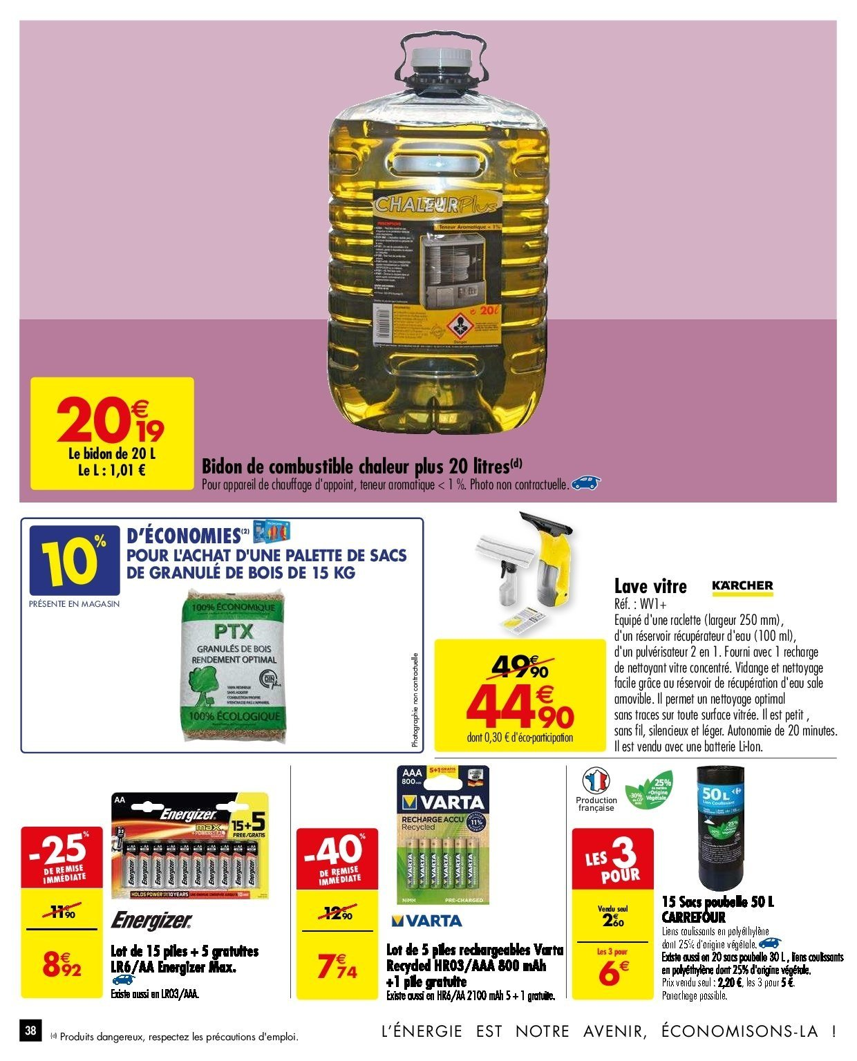 Catalogue Carrefour - 26.12.2018 - 31.12.2018. Page 38.
