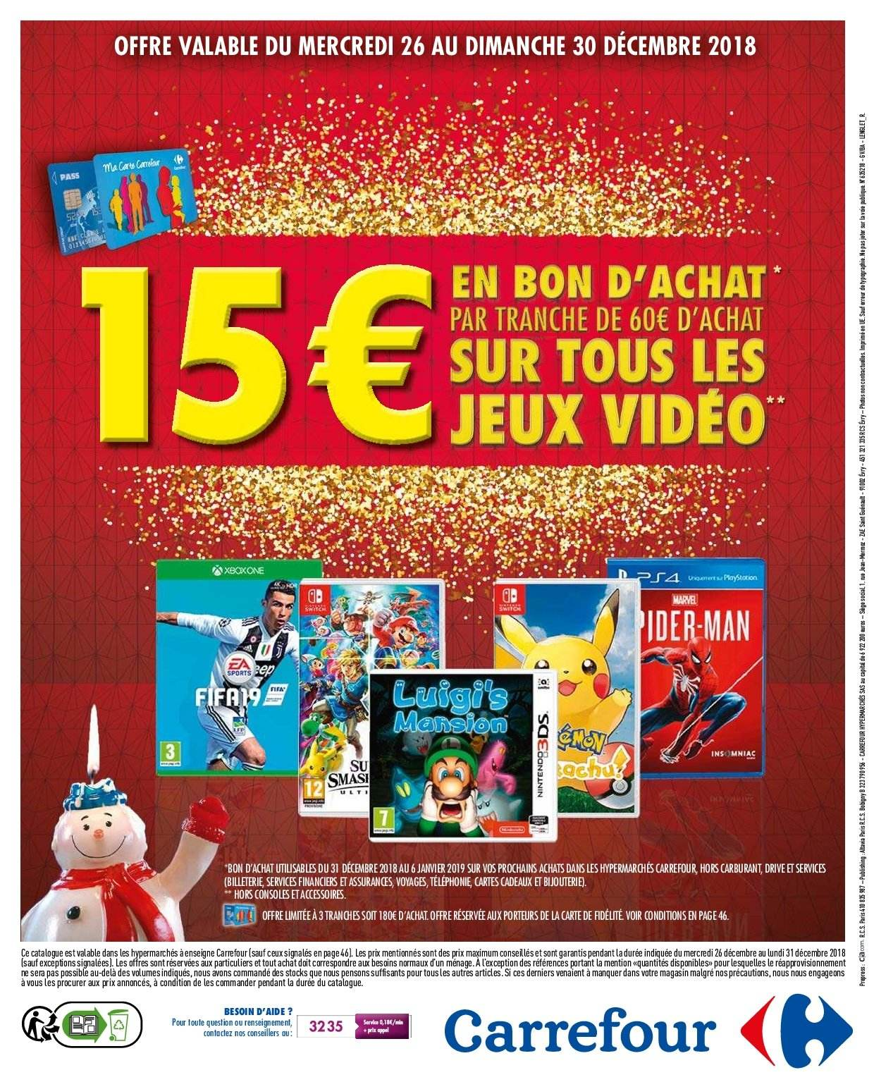 Catalogue Carrefour - 26.12.2018 - 31.12.2018. Page 49.