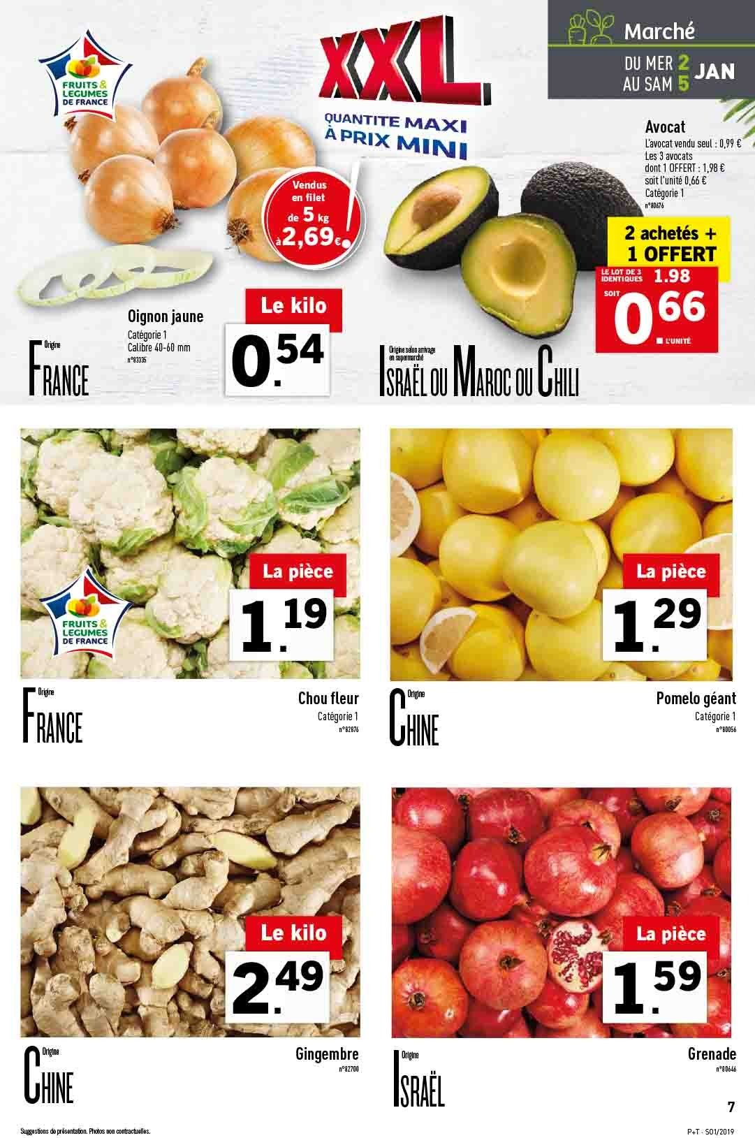 Catalogue Lidl - 02.01.2019 - 08.01.2019. Page 7.