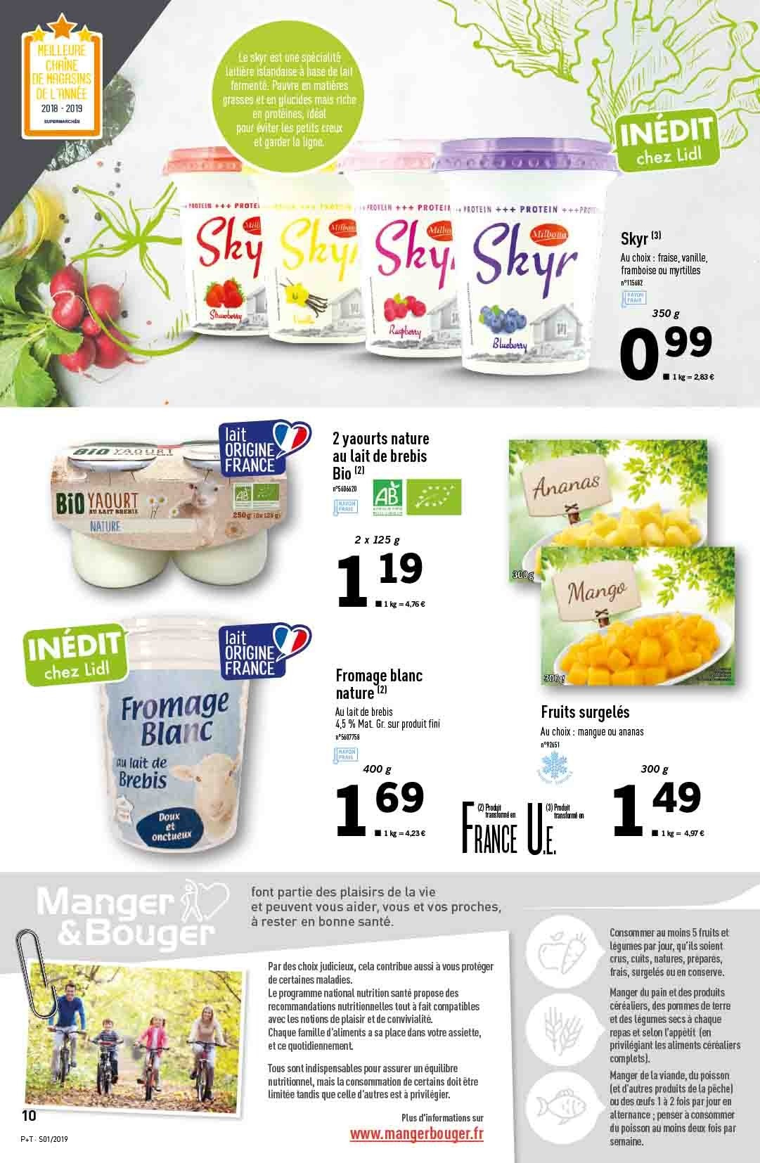 Catalogue Lidl - 02.01.2019 - 08.01.2019. Page 10.