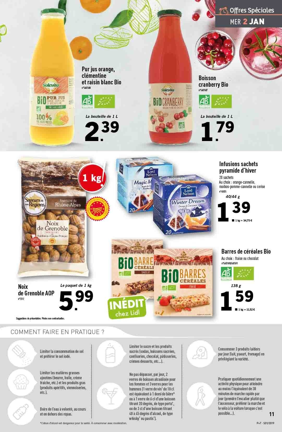 Catalogue Lidl - 02.01.2019 - 08.01.2019. Page 11.