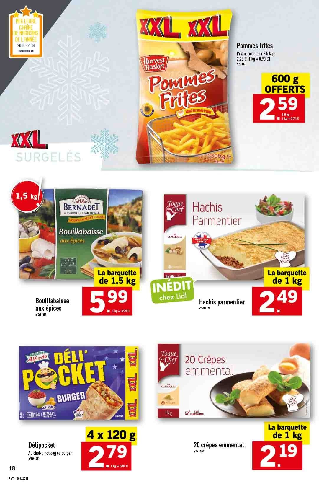 Catalogue Lidl - 02.01.2019 - 08.01.2019. Page 18.