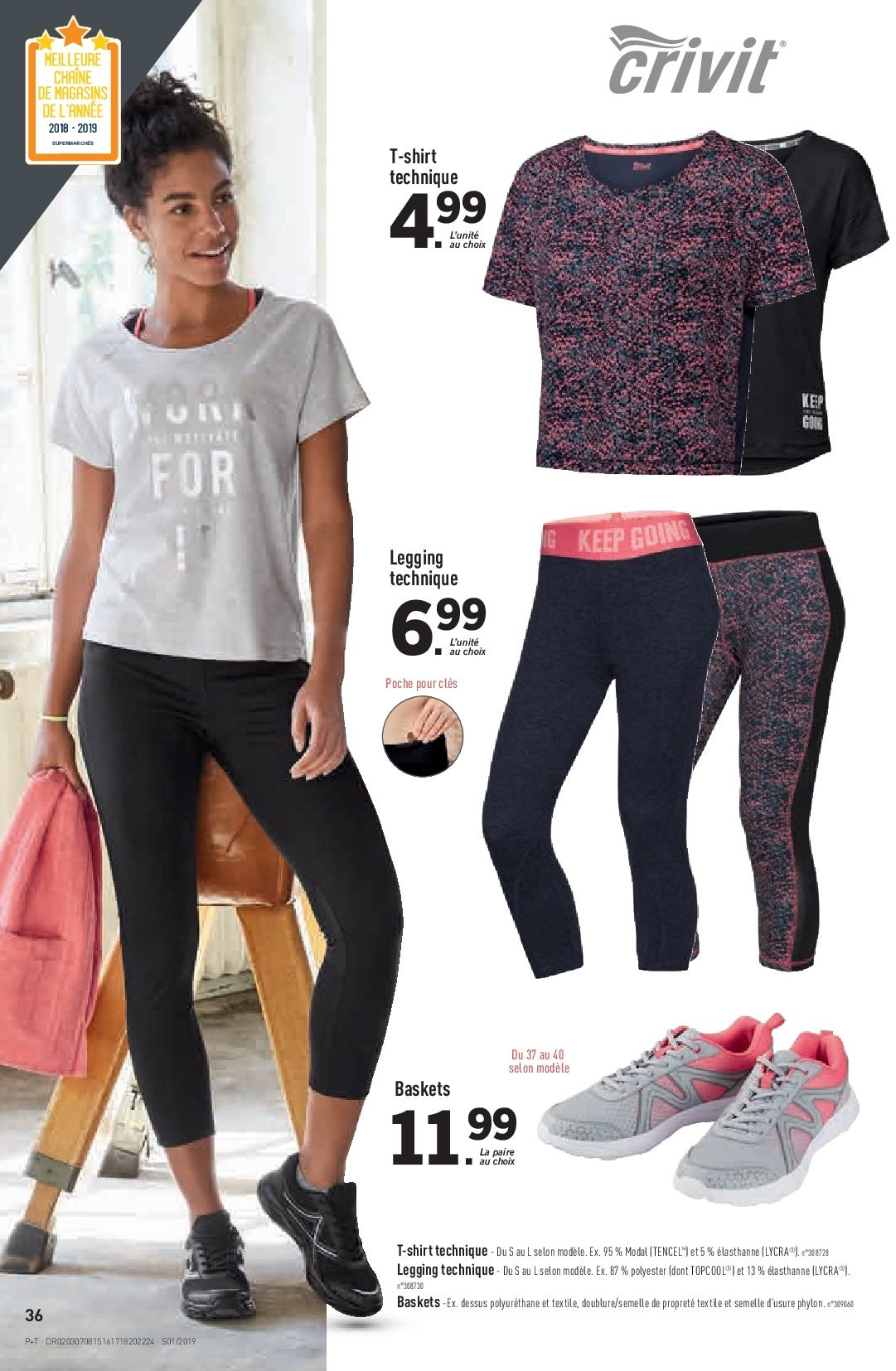 Catalogue Lidl - 02.01.2019 - 08.01.2019. Page 36.